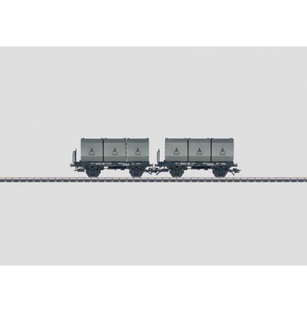 48272 Set with 2 Container Cars