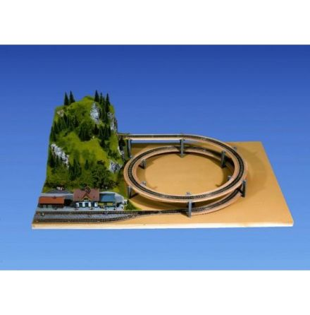 Double track r=515/579,3mm
