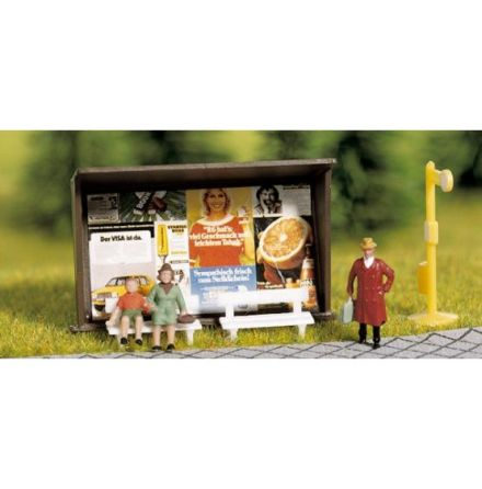 Miniscen busshållplats