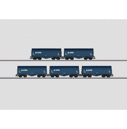 47203 Vagnsset med 5 godsvagnar
