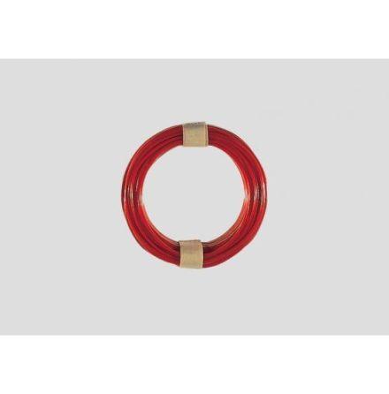7105 Röd kabel 0,19mm² 10M