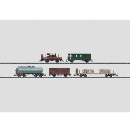 48800 Vagnsset med 5 godsvagnar