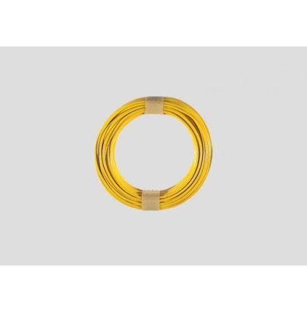 7103 Gul kabel 0,19mm² 10M