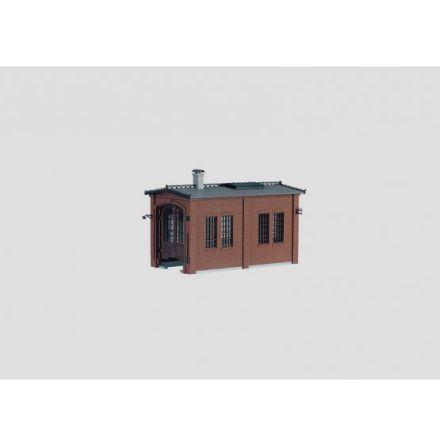 72897 Building Kit of a Locomotive Shed