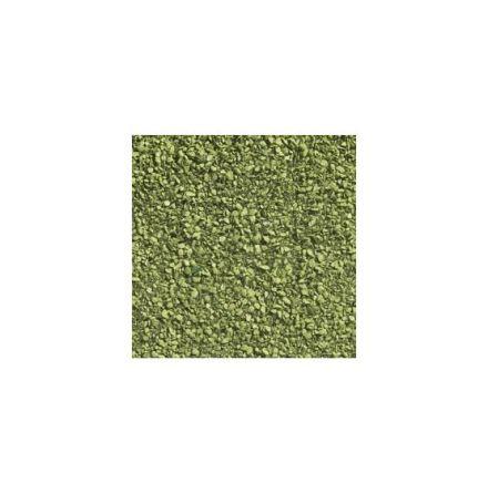 Löv matta ljusgrön 24x15cm