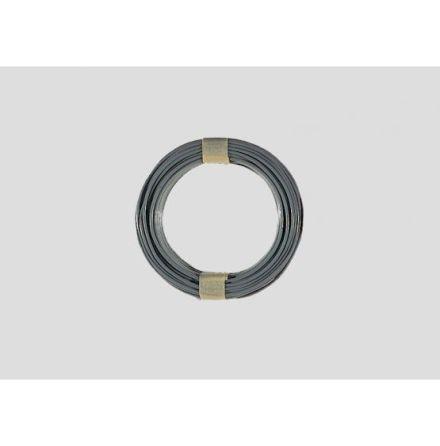 7100 Grå kabel 0,19mm² 10M