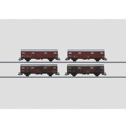 00779 Display med 20 st godsvagnar