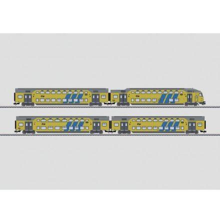 43598 Personvagnsset med 4 vagnar