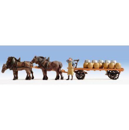 Bryggerivagn till häst