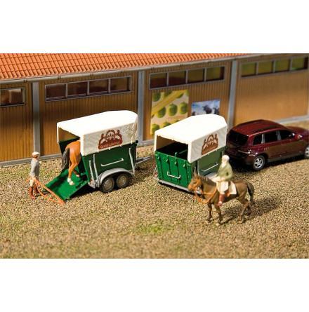 130545 Hästtrailer 2 st