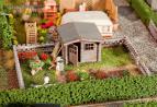 180492 Koloniträdgård med skjul
