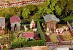 180494 Koloniträdgård med skjul 2 st