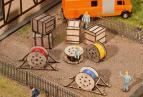180617 Transportlådor och kabelrullar