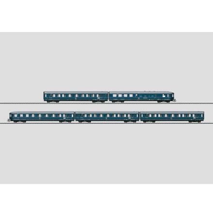 """42610 """"Blauer Enzian"""" / """"Blue Gentian"""" """"F-Zug"""" Passegarvagnset Expresståg"""