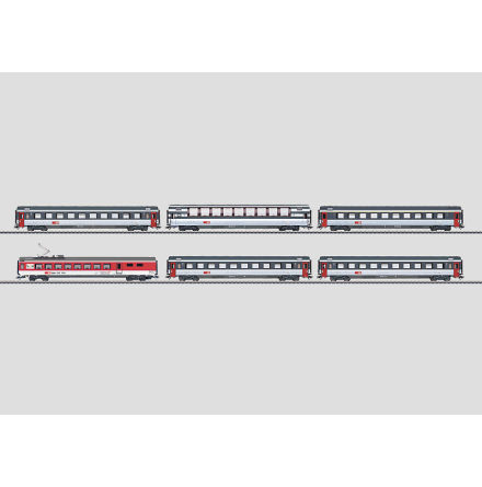 43670 Personvagnsset Euro City Express, 6 vagnar