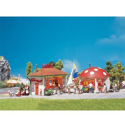 120135 Två små kiosker