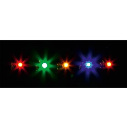 180652 LED belysning i olika färger
