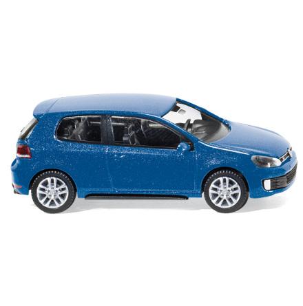 007602 VW Golf GTD blå metallic