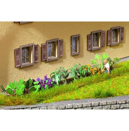 N14054 Garden Plot, 17 pcs. Laser-Cut minis+