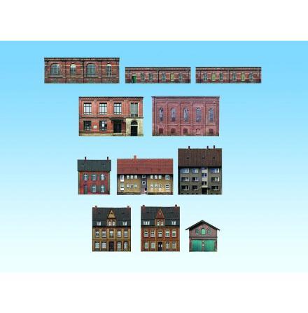 N60310 Small Industry & Estate, 11 Half-relief buildings