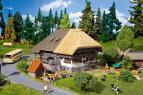 130534 Schwarzwald gård med halmtak