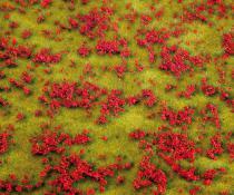 180460 PREMIUM Landskapssegment blomsteräng röd