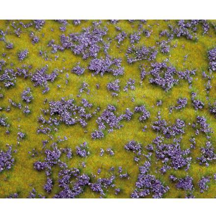180461 PREMIUM Landskapssegment blomsteräng violett